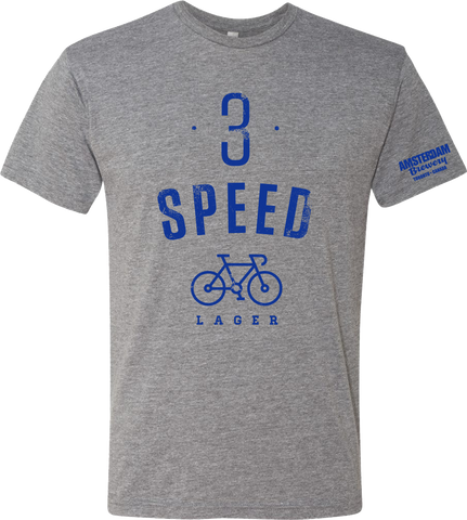 T-Shirt 3 Speed -Grey