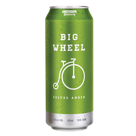 Big Wheel Deluxe Amber Ale 473mL Can | 25 PACK