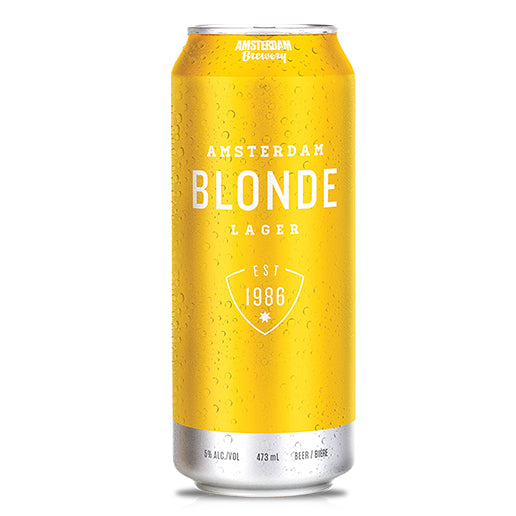 Blonde Lager 473mL Can | 25 PACK