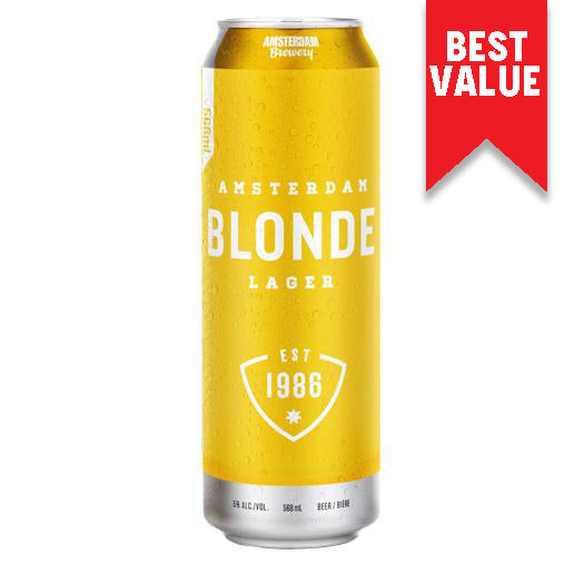 Blonde Lager 568mL Can | 25 PACK