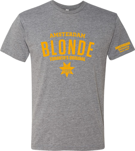 T-Shirt Blonde -Grey