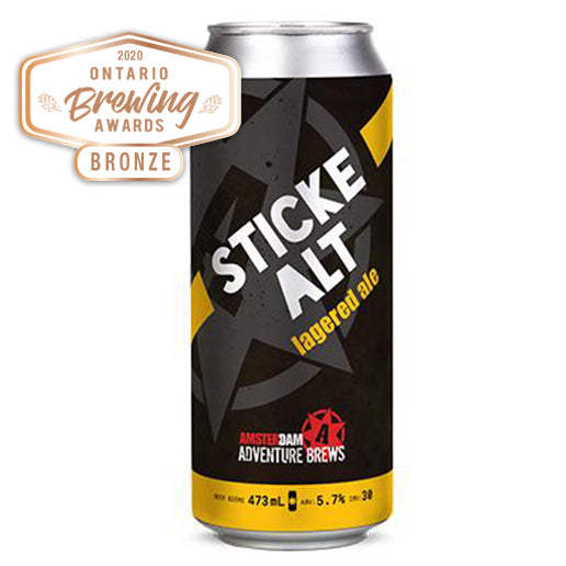 Sticke Alt Lagered Ale 473ml Can | 6 PACK