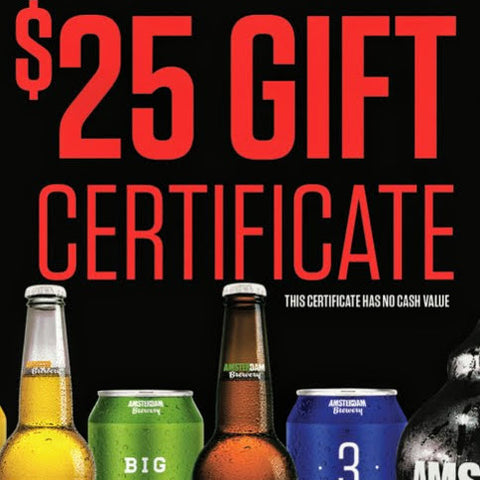 $25 Retail Gift Certificate