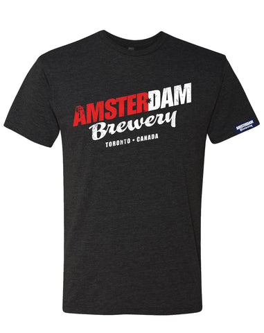 T-shirt- Amsterdam Brewery- Charcoal