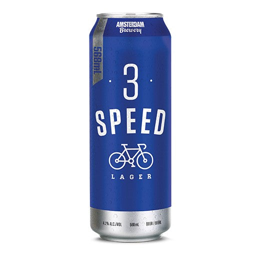 3 Speed Lager 568ml Can | 6 PACK