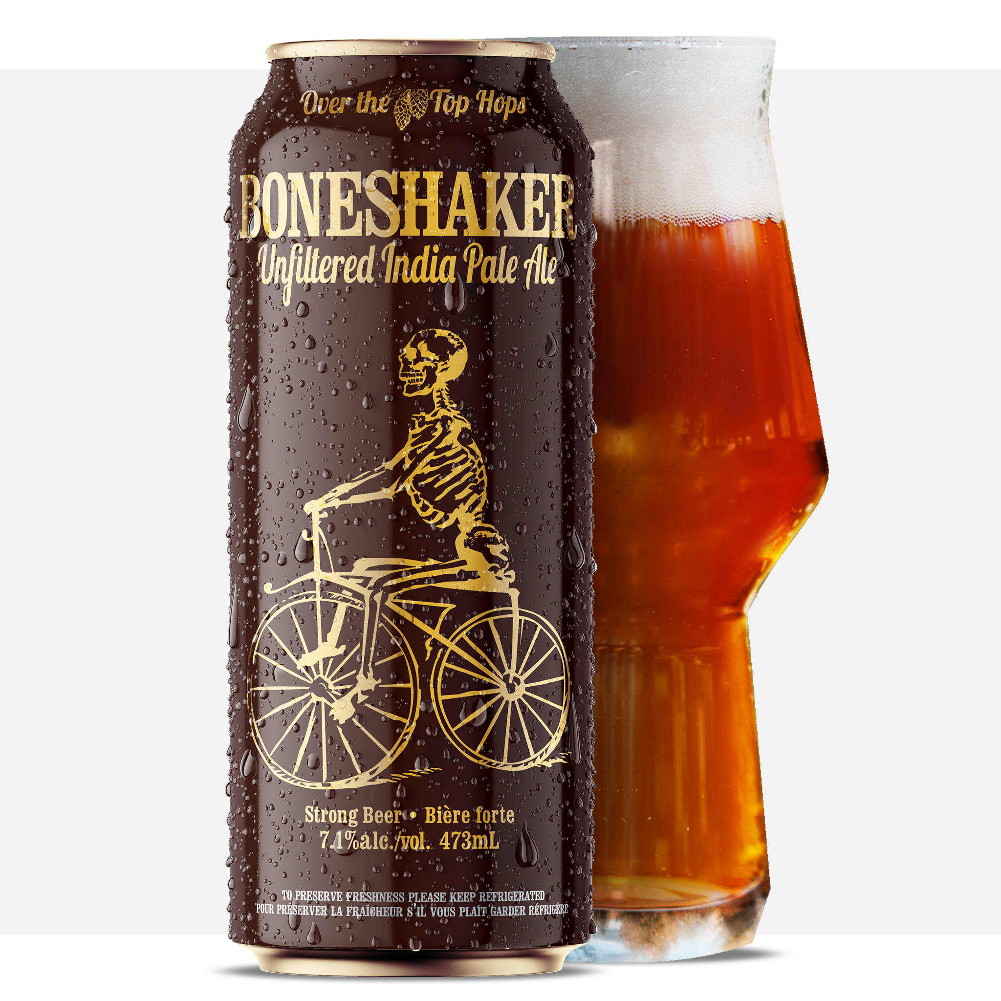Boneshaker IPA 473mL Can