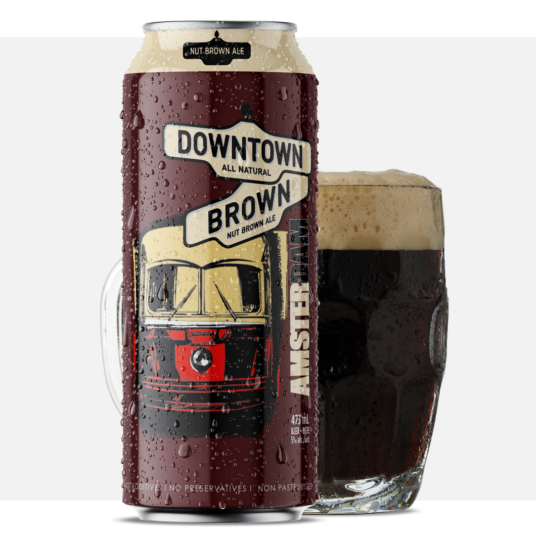 Downtown Brown Ale 473ML Can - 25Pk