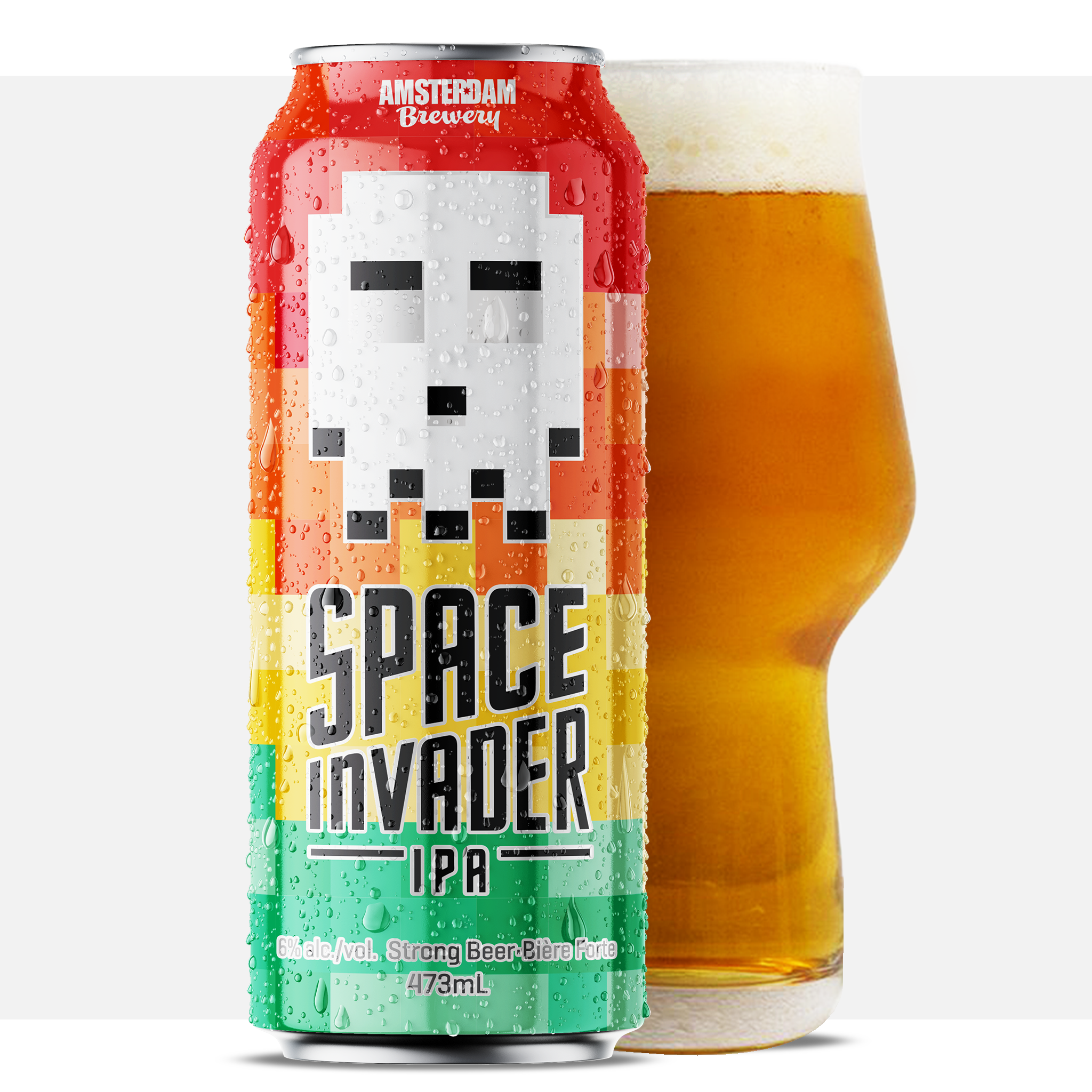 Space Invader* 473ML Can