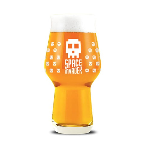 Glass- Space Invader 20oz