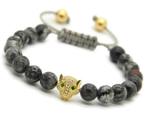 Leopard Head - Mens Stylish Pantera Bracelets - Vizfe