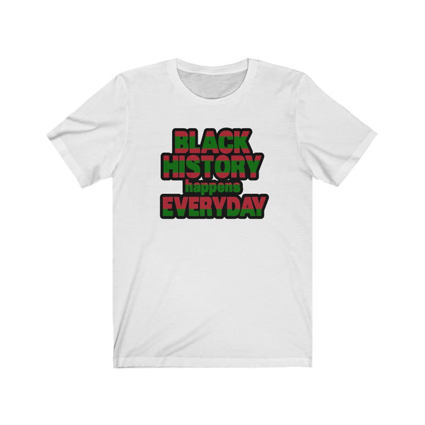 Black History Everyday Unisex Jersey Short Sleeve Tee