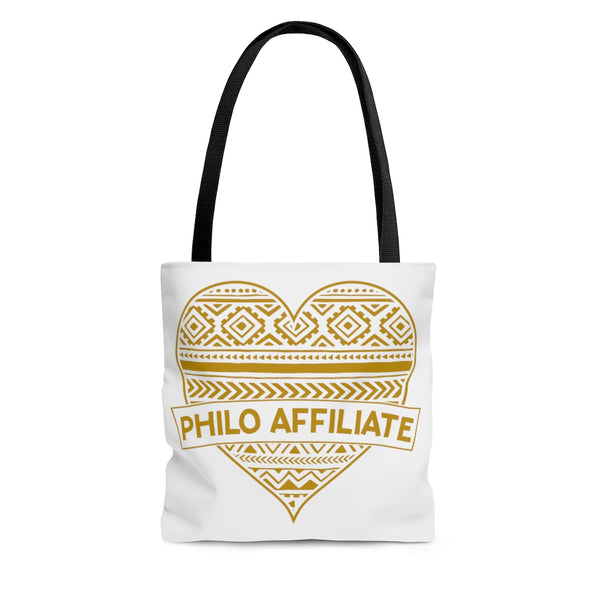 Philo Heart Tote Bag