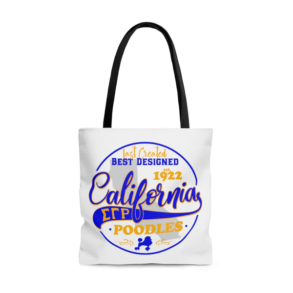 California Poodles Tote Bag