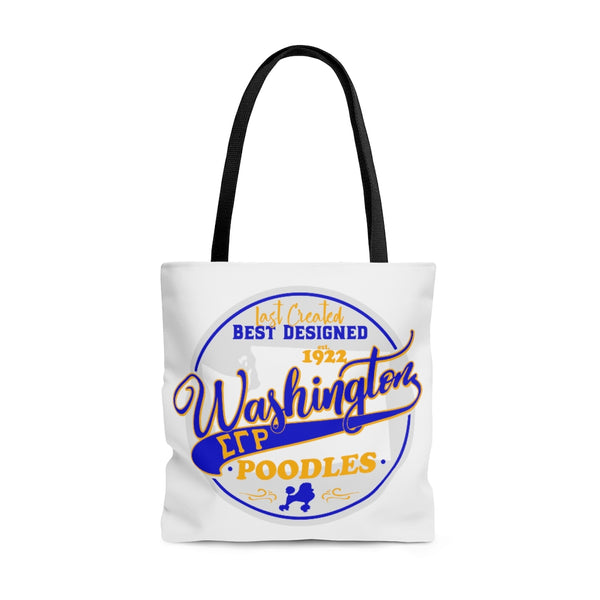 Washington Poodles Tote Bag