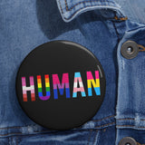 HUMAN Custom Pin Buttons