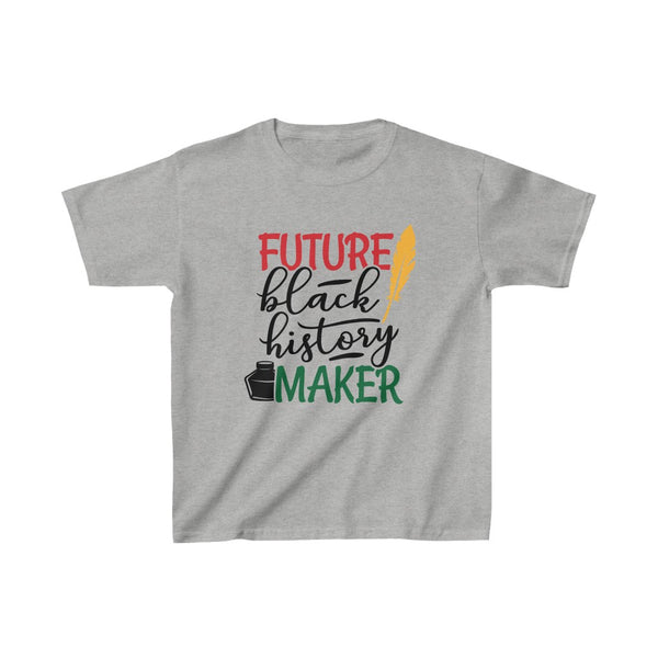 Future Black History Maker Kids Heavy Cotton™ Tee