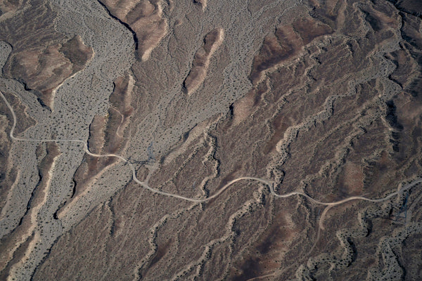Desert View From Above