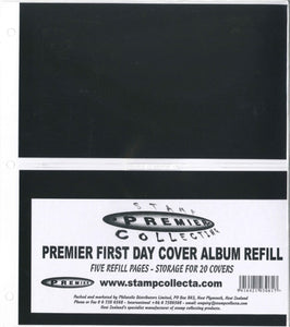 Premier FDC Album Refill 2 Pocket