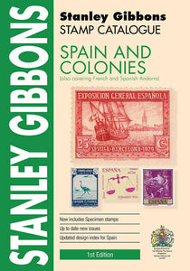 S.G. Spain & Colonies 1st Edition