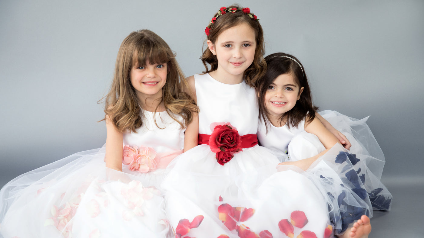 Flower Girl Dress, Special Occasion Dress, Flower Girl, Us Angels Flower Girl Dress, Satin Flower Girl Dress,