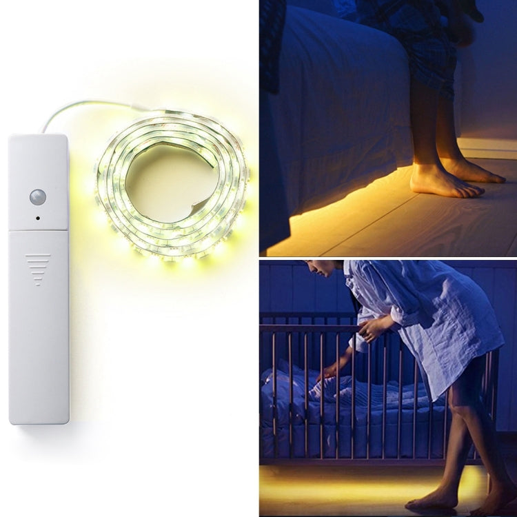 1 m LED-Strip met bewegingssensor (Warm White)