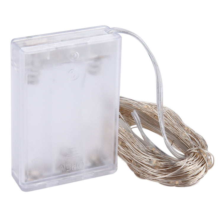 10m IP65 Waterdicht Zilverdraad Licht (White Light)