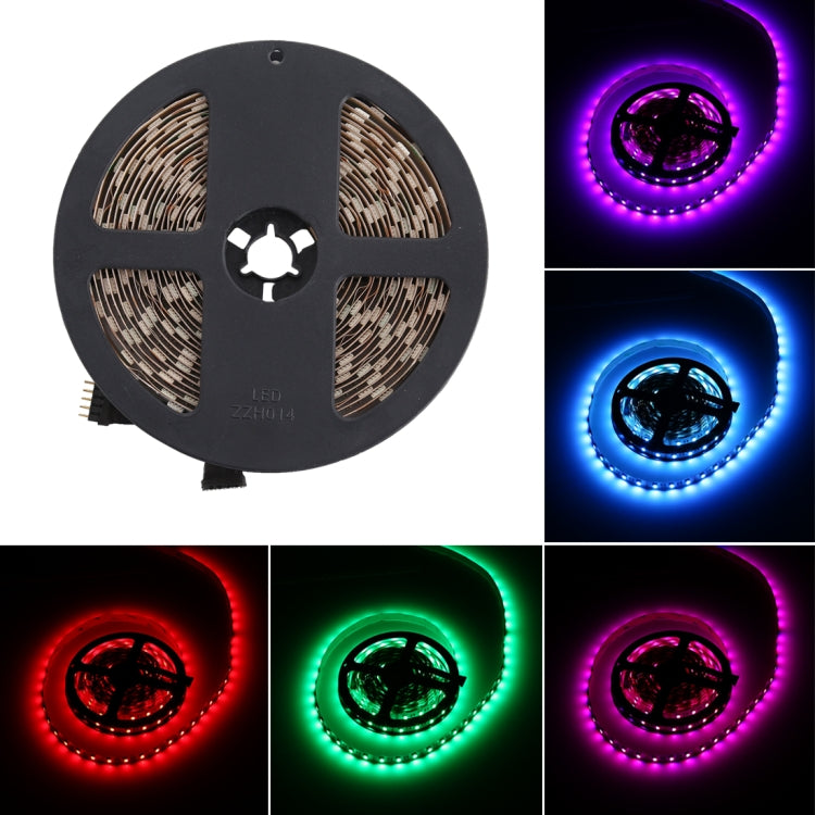 12V 60 LED's RGB LED-strip met afstandsbediening
