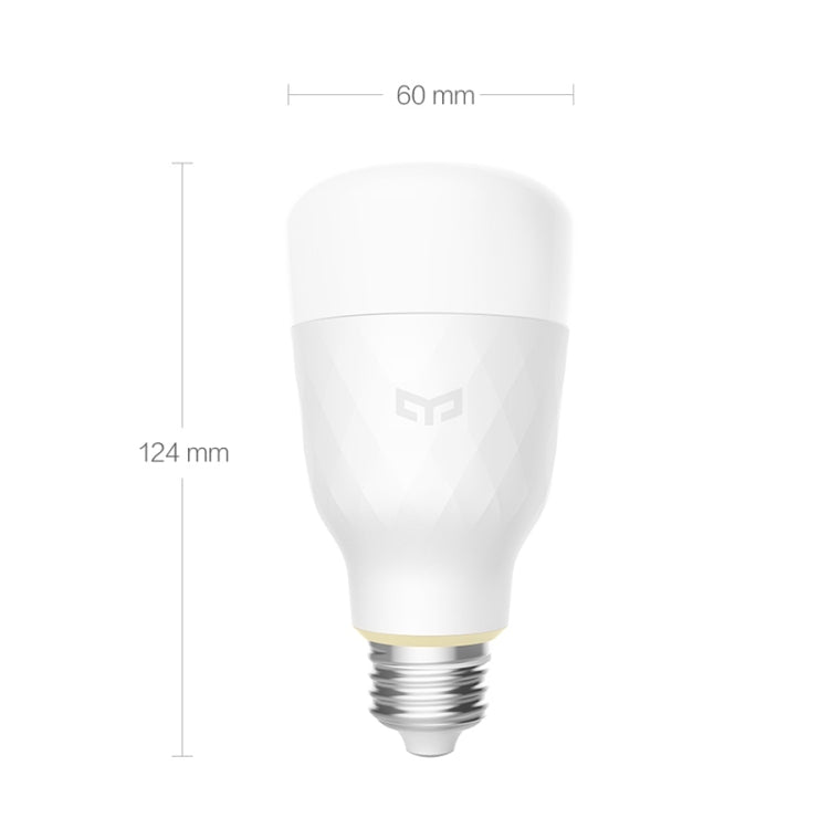 Xiaomi 10W E27 RGB WiFi-bediening Smart LED-Lamp