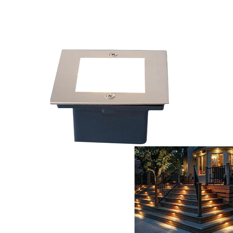 LED Flat Style Warm White 3W Grond/Wand Lamp