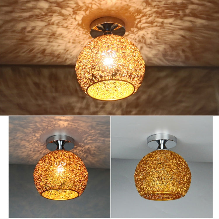 Retro LED plafondlamp (Goud)
