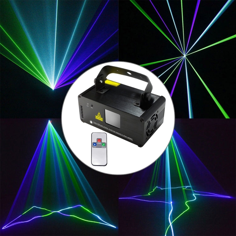 18W LED Single Beam Laser Projector met Afstandsbediening