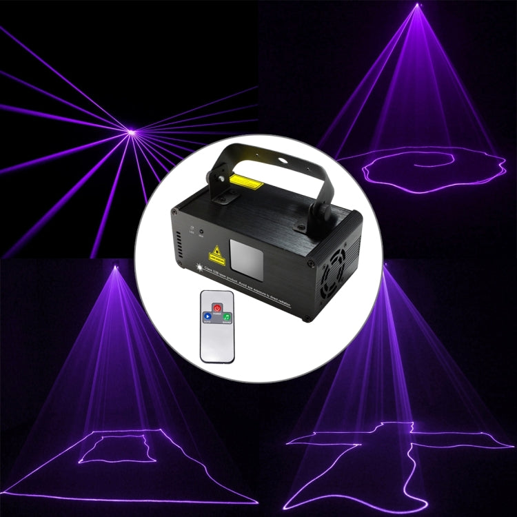 15W LED Single Beam laserprojector (Paars Licht)