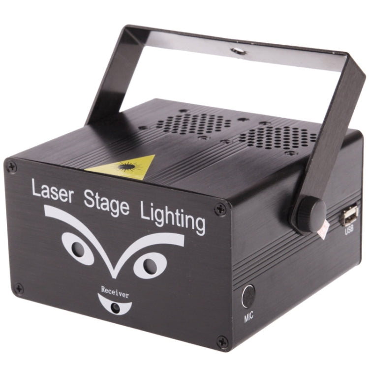 2-kleuren Holografische Anime Laser Stage Lighting Projector