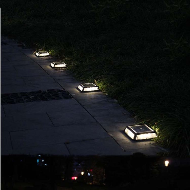 12 LED Solar Pad Lamp