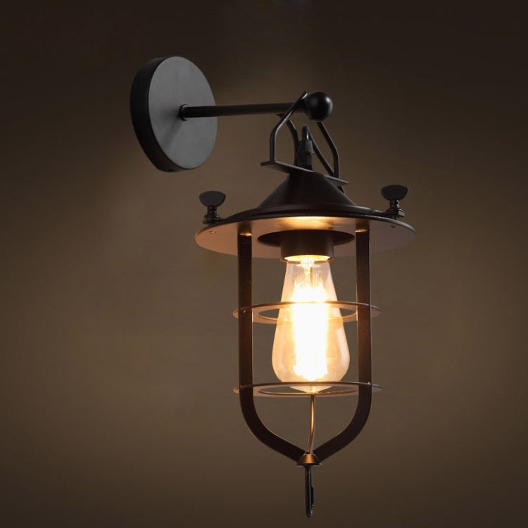 Retro Iron Wandlamp