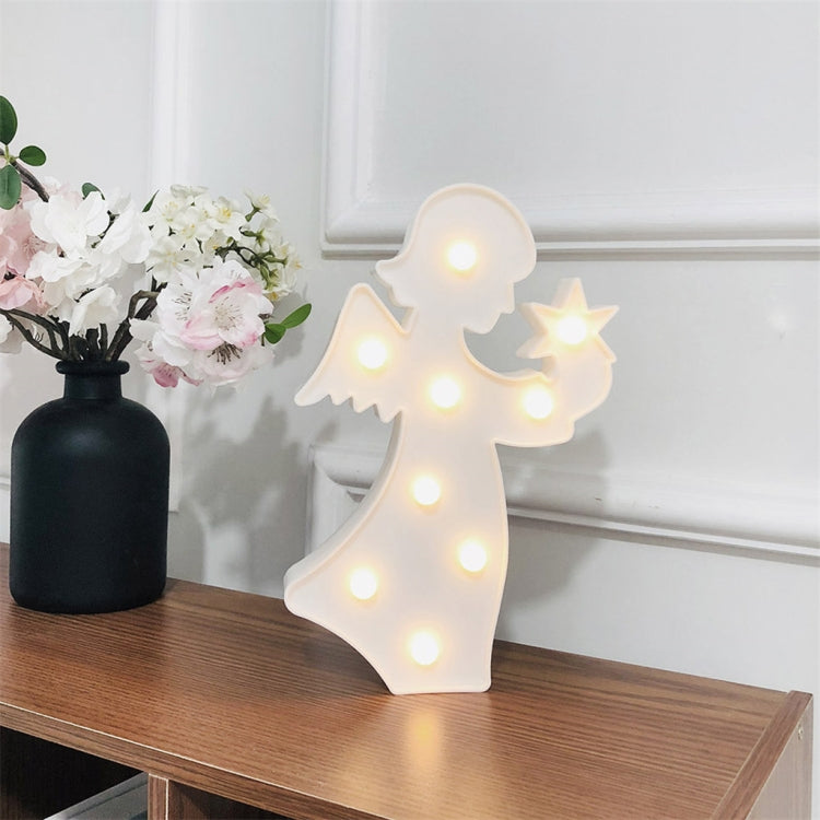 LED Girl Angel Fairy Style Lamp