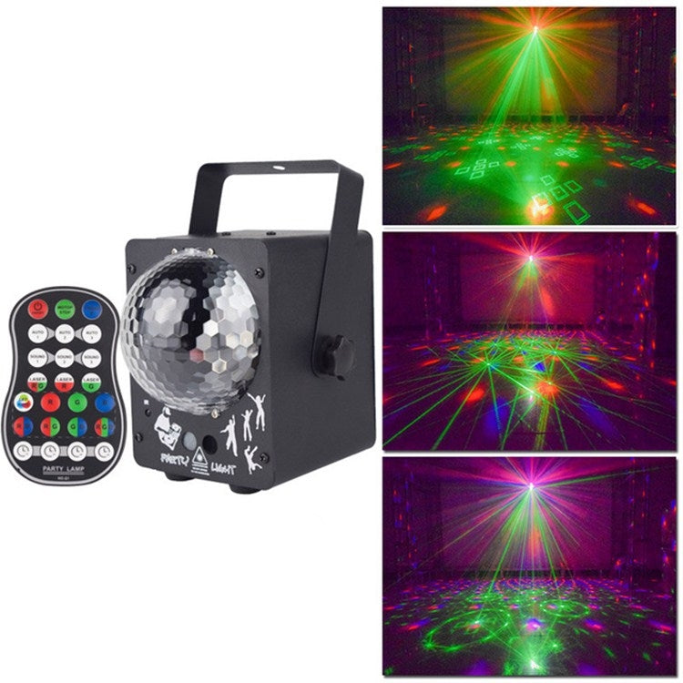 18W 60 soorten patroon Crystal Magic Ball Laser Lights