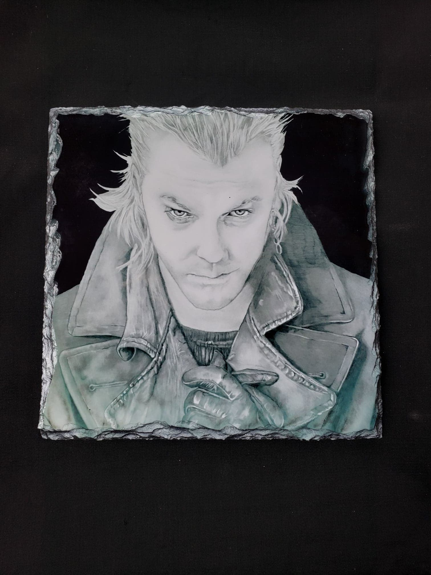 David Lost Boys Print on Stone Tile