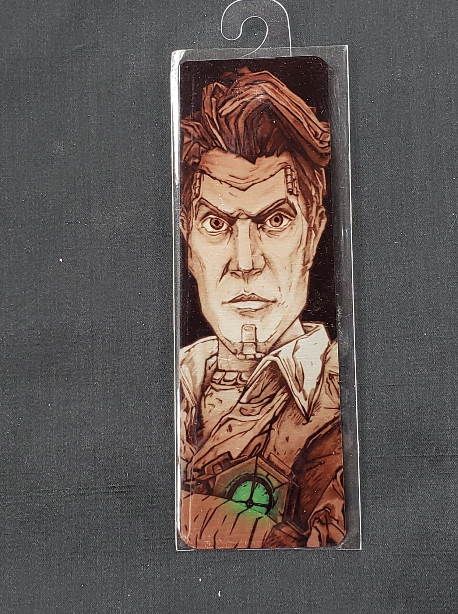 Borderlands Metal Bookmark