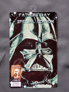 Darth Vader Star Wars Comic Metal Art Print