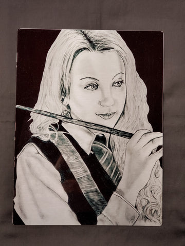 Luna Lovegood Metal Art Print