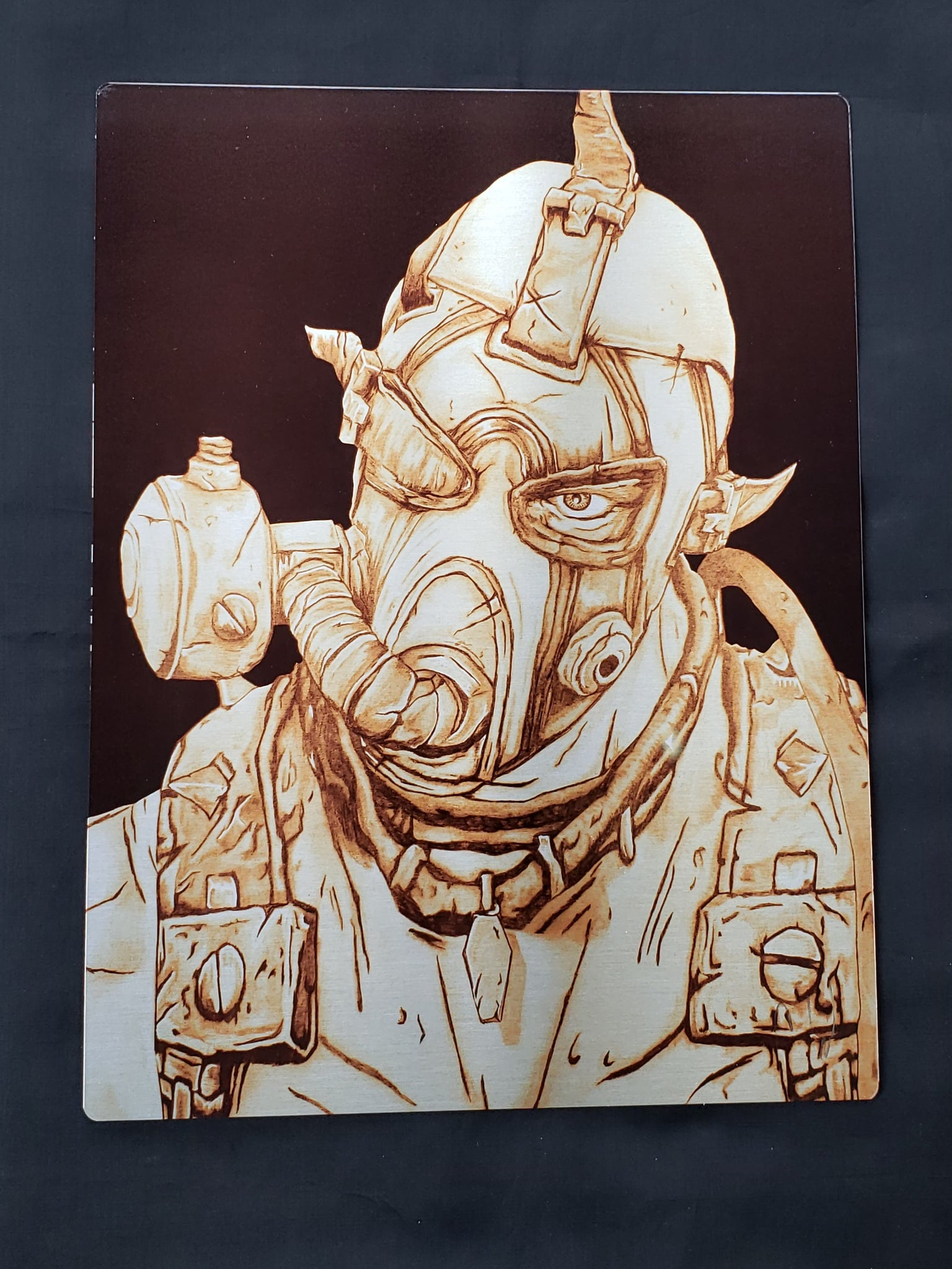 Borderland's Krieg  Metal Art Print
