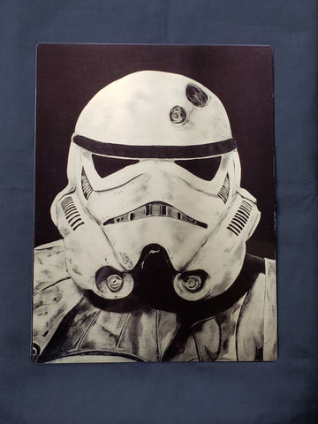 Storm Trooper Metal Art Print