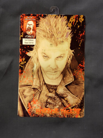 David Lost Boys Comic Metal Art Print