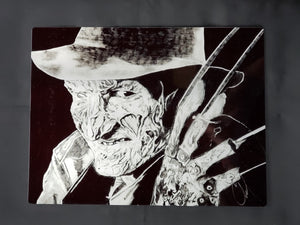 Freddy Krueger Metal Art Print