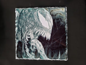 Venom Print on Stone Tablet