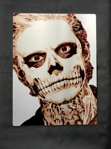 Evan Peters American Horror Story Metal Art Print
