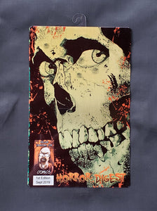 Evil Dead Comic Metal Art Print