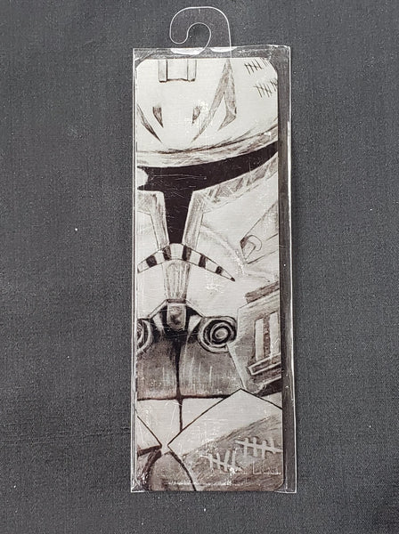 Star Wars Metal Bookmark