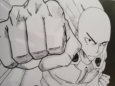 One Punch Man 11x17 Print